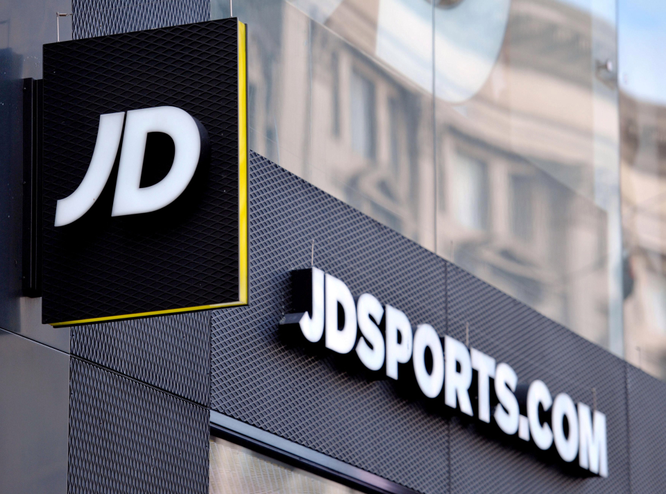 High Street retailer JD Sports has seen pre-tax profits increase by 81 per cent