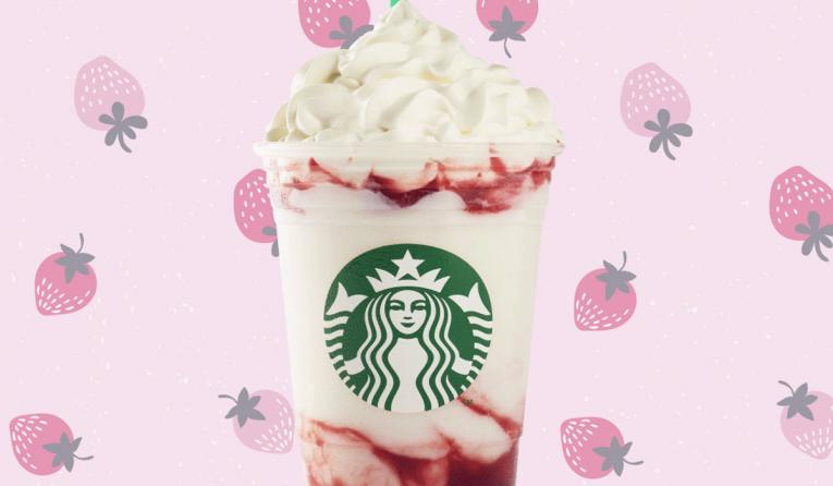 Starbucks Adds Serious Strawberry Frappuccino to Menus Nationwide | QSR magazine